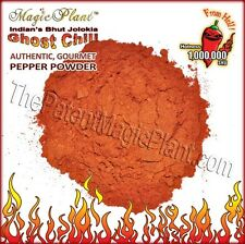 Ghost Pepper Powder / Bhut Jolokia Pepper Powder - UnSmoked (5 size variations)
