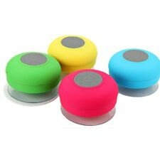 Mini HIFI Waterproof Wireless Bluetooth Speaker Handsfree Mic Suction Shower Car