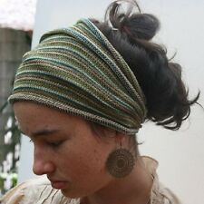 Dreadlock Head Band/Hair Wrap/ Dreads Rasta/ Hippy/ Festival 27 Colours