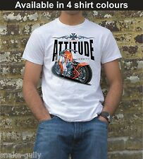 CHOPPER BIKE ATTITUDE  T-SHIRT