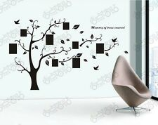 Large Forever Family Photo Frame Tree Wall Sticker Quote Home Decor Room Decals