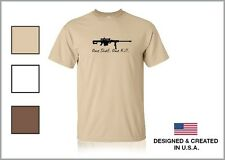 BARRETT M82A1 One Shot One Kill SNIPER TACTICAL Shirt 100% Cotton **3 CHOICES**