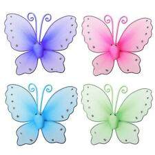 Butterfly Design Metal Window Curtain Tie Back Hold Clip Tieback Home Decor Pair