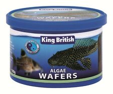 King British algae wafers aquarium fish food pleco catfish