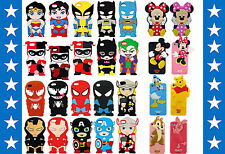 3D Disney Cartoon Super Hero Soft Silicone Cover Case For Apple iPhone 4 4S 5 5S