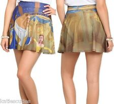 Disney Belle Beauty and the Beast Junior Mini Skirt S M L XL New