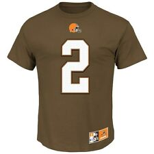 "Johnny Manziel Cleveland Browns Majestic NFL ""Johnny Football"" Men's T-Shirt"