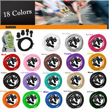 Locking Shoe Laces Elastic Shoelaces Running/Jogging/Triathlon/Sports Fitness