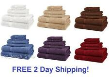 NEW 6 Piece 100% Egyptian Cotton 725 Gram Bath Towel Towels Set - 2DayShip