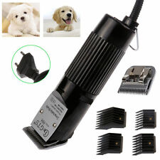 PROFESSIONAL PET DOG Cat CLIPPERS GROOMING KIT ANIMAL HAIR TRIMMER CLIPPER GTS
