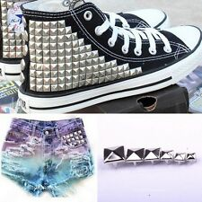 7 Sizes New hot sale Silver Pyramid Studs Rivets for Leather craft