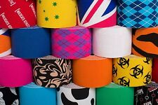 "ROCKTAPE KINESIOLOGY 2"" ROLL SPORTS CROSSFIT ROCK TAPE - NEW COLORS!!!"