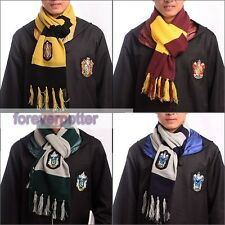 Hot Harry Potter Gryffindor Slytherin Ravenclaw Hufflepuff Scarf Xmas Party Gift