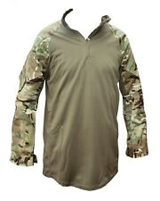 MTP CAMOUFLAGE UNDER BODY ARMOUR COMBAT SHIRT UBAC- GREEN - NEW