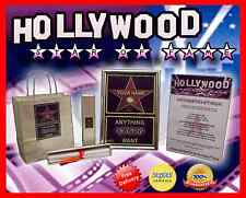 HOLLYWOOD STAR WALK OF FAME! GREAT PERSONALISED GIFT FOR BIRTHDAY PARTY