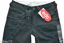 EDC BY ESPRIT BOOTCUT STRETCH HOSE CARGO HOSE MIT GURTEL HIGH FIVE BOOTCUT