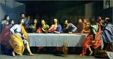 "Poster / Leinwandbild ""The Last Supper, called 'The Little L..."" - P. Champaigne"