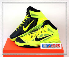 Nike Hyperdunk 2014 GS Volt Black 654252-700 US 4.5~7Y Youth Basketball