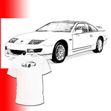 Nissan 300 ZX Drawing T shirt 350 370 R Available Datsun 240 z 260 280