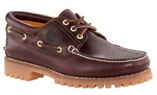 Timberland Men's 50009 Burgundy Earthkeepers Timberland 3-Eye Classic Lug Shoes
