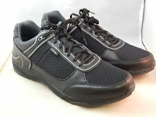 Men's VIONIC with Orthaheel Technology ENDURANCE Black Walker-ORTHOTIC SNEAKERS!