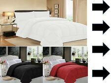 Goose Down Alternative Luxurious Solid Comforter Full Queen and King