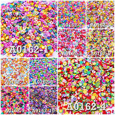Mix Lot Styles Pattern Fimo Clay Slice DIY Nail Art Decoration Craft UPICK A0162