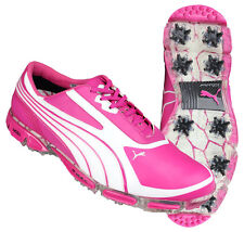 ★ Puma Amp Cell Fusion SL Golf Shoes ★ Pink / Cabaret ★ RRP£150 ★ FREE POST IJP