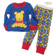 Baby boys'  Kids' Clothing Sleepwear Long T-shirt + pants Suit  Nightwear 7024UK