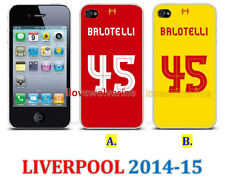 New Cover 45 BALOTELLI Liverpool 2014 - 2015 Case Apple iPhone Samsung Galaxy LG