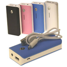 External Backup Power Bank Charger Battery For iPhone Samsung 5600mAh