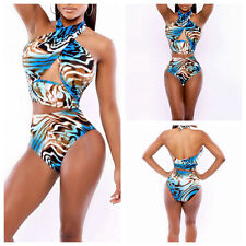 Sexy Womens Hollow Out Bandage Bikini Set Swimsuit Swimwear Monokini Beachwear