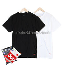 Supreme FW14 Box Logo Hanes Tee (pack of 3)