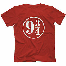 Platform 9 3/4 T-Shirt in 13 Colours HARRY POTTER INSPIRED HOGWARTS HERMIONE