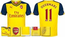 *14 / 15 - PUMA ; ARSENAL AWAY SHIRT SS / OVERMARS 11 = SIZE*