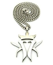"""New KOTTONMOUTH KINGS Pendant &5mm/24"""" / 30"""" Cuban Link Chain Necklace RC507CC"""