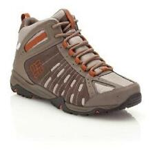 Columbia Men's Granite Pass Mid Outdry Trail Shoe, Tusk/Cayenne