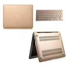 "Champagne Gold Hard case keyboard cover For macbook Air / Pro 11"" 13"" 15"" inches"