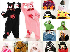 Unisex Kigurumi Pajamas Anime Cosplay Costume Unisex Animal Onepiece Sleepwear