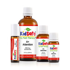 KidSafe A+ Attention Synergy Essential Oil Blend, Undiluted, Therapeutic Grade