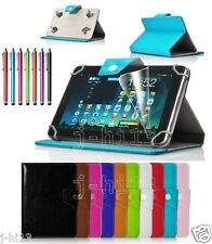"Qualified Leather Case +Gift For 10.1"" Mach Speed TRIO Stealth G2 G4 Tablet GB8"