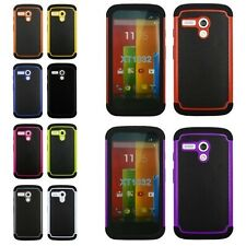 New Cheap Heavy Duty Shockproof Hard Case Cover Protector For Motorola Moto G