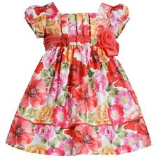 New Bonnie Jean Floral Dress Toddler Girls Size 2 T 3 T 4 T