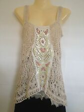 Free People Crochet Lace Tank Top in XS, S or M (NWT) MSRP $128!