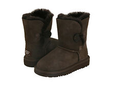 UGG Australia Bailey Button Chocolate Toddler Girls Boots Model: 5991T