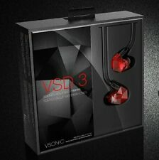 VSONIC VSD3S Hifi Professional sound-insulation Stereo Inner-Ear Audio Earphones