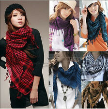 Great Unisex Women Men Winter Arab Shemagh Keffiyeh Palestine Scarf Shawl Wrap