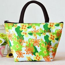 Lunch Bag Tote Thermal Insulated All Over Print Pattern Design Warmer Box Picnic