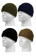 Military Police EMT EMS Security Guard Duty 100% Wool Watch Skull Knit Cap Hat