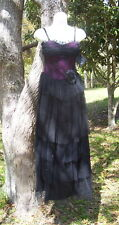 RARE NEW LIP SERVICE ALL THAT GLITTERS GOWN XS GOTHIC DRESS PROM PARTY WEDDING